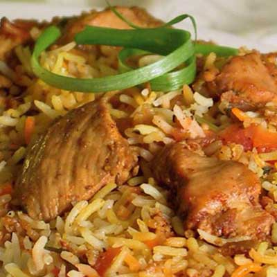 Chicken Biryani (boneless)