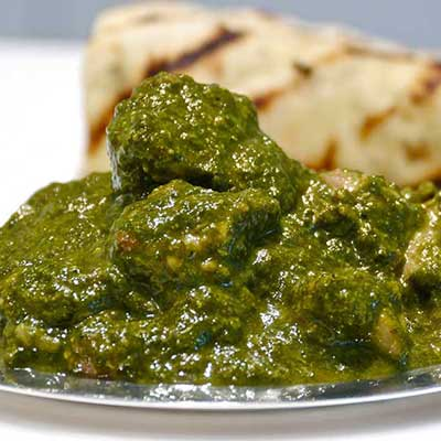 Chicken Saag (Spinach Chicken)