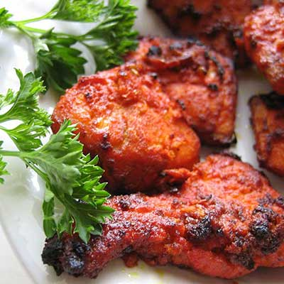 Fish Tikka Kabab (Salmon Fish)