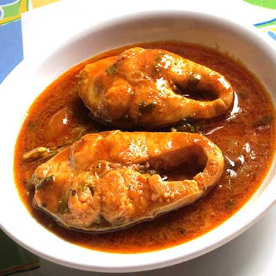Andhra Fish Curry (Tilapia Fish)