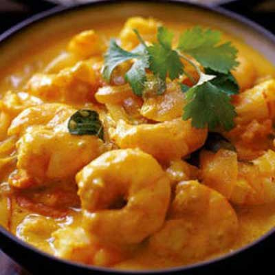 Andhra Shrimp Curry (Baby Shrimp)