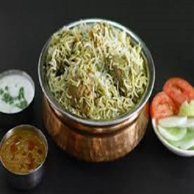 Gongura Chicken Biryani (Boneless)